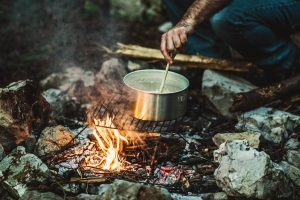 Cooking utensils should go on your camping checklist