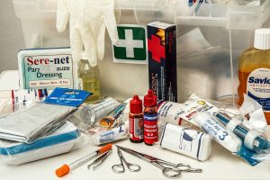 A first aid kit is a must have item on your camping checklist
